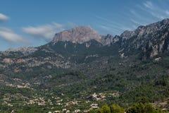 Serra de Tramuntana berg Royaltyfri Bild