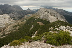 Serra de Tramuntana mountains Royalty Free Stock Photo