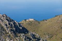Serra de Tramuntana - mountains on Mallorca Stock Photo