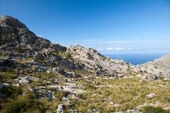 Serra de Tramuntana - mountains on Mallorca Royalty Free Stock Photography