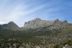 Serra de Tramuntana Royalty Free Stock Photos