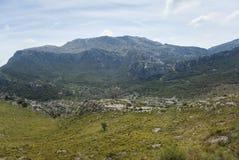 Serra de Tramuntana. Mountains in Mallorca, Spain Royalty Free Stock Images