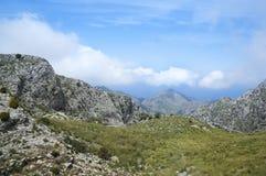 Serra de Tramuntana. Mountains in Mallorca, Spain Stock Photo