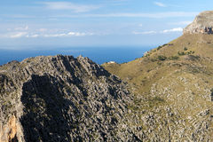 Serra de Tramuntana - mountains on Mallorca Stock Photos