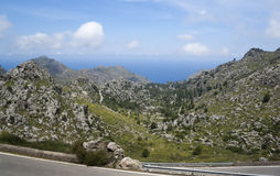 Serra de Tramuntana Royalty Free Stock Photo