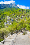 Serra de Tramuntana - Mountains Range on Mallorca, Balearic Islands, Spain Royalty Free Stock Photos