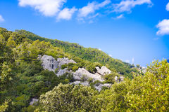 Serra de Tramuntana - Mountains Range on Mallorca, Balearic Islands, Spain. Serra de Tramuntana - Mountains Range on Mallorca, Balearic Islands Stock Photography