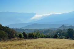 Serra del Montsec Stock Image