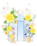 Serra di estate Illustrazione di Stock