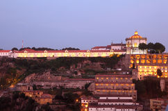 Serra do Pilar Monastery in Porto Stock Image