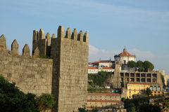 Serra do Pilar Monastery in Porto Royalty Free Stock Photography