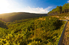 Serra do Suido in Galicia Royalty Free Stock Image
