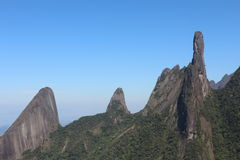 Serra dos Órgãos stock images