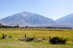 Serra escala de montanha de Nevada Foto de Stock Royalty Free