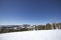 Serra escalas da neve de Nevada Imagem de Stock Royalty Free