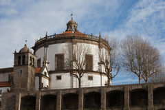 Serra hace a Pilar Monastery en Vila Nova de Gaia Fotos de archivo