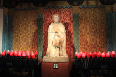 Serra kaplica przy misją San Juan Capistrano Obraz Royalty Free