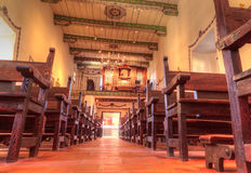 Serra kaplica przy misją San Juan Capistrano Obraz Stock