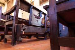 Serra kaplica przy misją San Juan Capistrano Obrazy Stock