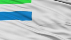 Serra laço sem emenda de Leone Naval Ensign Flag Closeup ilustração stock