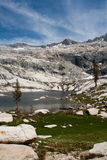 Serra lago da montanha Foto de Stock Royalty Free