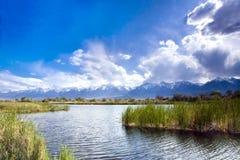 Serra lagoa de Nevada Fotografia de Stock