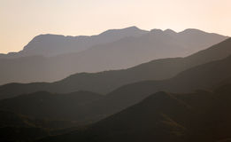 Serra montanhas do de Mijas. Spain Imagens de Stock Royalty Free