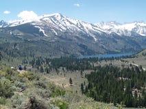 Serra Nevada de Califórnia imagem de stock