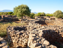 Serra Orrios Nuragic Village Royalty Free Stock Image