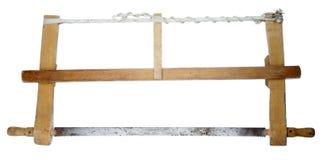 Serra oxidada velha da mão Imagem de Stock Royalty Free