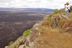 Serra vulcão de Negra imagem de stock royalty free