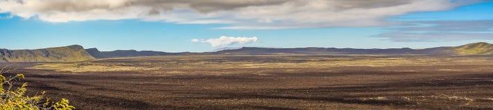 Serra vulcão de Negra, Galápagos, Equador foto de stock