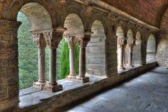 Serrabone-Kloster in Pyrenes-orientales, Frankreich Stockfotos