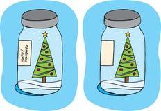 Serrage de Noël Photos libres de droits