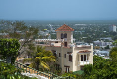 Serrallés Castle, Ponce, Puerto Rico. An iconic house in Ponce, Puerto Rico. Don Q rum manufacturers Stock Images