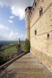 Serralunga δ ` Alba, περιοχή της βόρειας Ιταλίας Langhe Εικόνα χρώματος Στοκ Φωτογραφίες