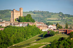 Serralunga d'Alba, Langhe, Italy Royalty Free Stock Photography