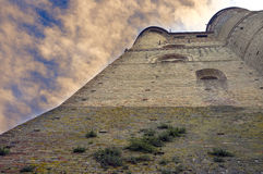 Serralunga d'Alba castle. Color image Royalty Free Stock Image