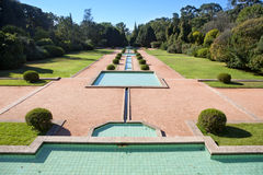 Serralves garden Royalty Free Stock Images