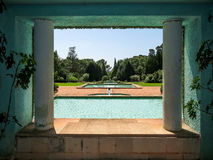 Serralves Park in Porto Stock Image