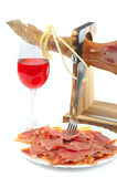 Serrano de Jamon Photo stock