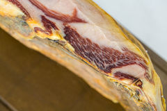 Serrano ham Stock Photo