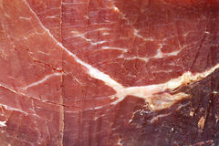 Serrano Ham Royalty Free Stock Photo