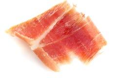 Serrano ham slice Royalty Free Stock Image