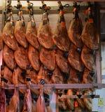 Serrano Ham Stall Image libre de droits