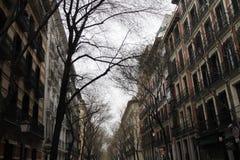 Serrano Madrid Fotografía de archivo