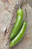 Serrano Pepper Stock Image