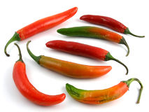 Serrano peppers Stock Photo