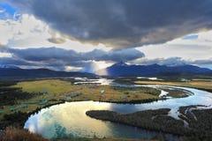 Serrano River Valley Fotos de archivo libres de regalías