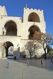 Serrano towers Valencia city Spain. Serrano towers old gates in Valencia city Spain Royalty Free Stock Photos
